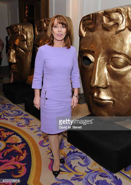 Kay Burley attends the BAFTA Nominees Party at The Corinthia Hotel on April 22 2015 in London England