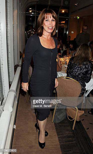 Kay Burley attends the Cosmetic Executive Women Awards 2011 where Joan Collins accepted the Lifetime Achiever Award at the Jumeirah Carlton Tower on...