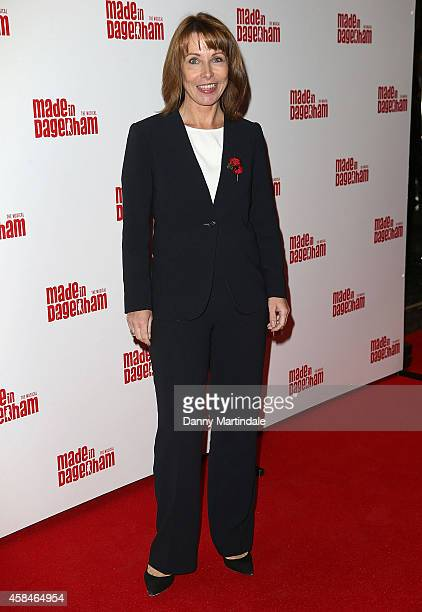 Kay Burley attends the 'Made In Dagenham' press night at Adelphi Theatre on November 5 2014 in London England