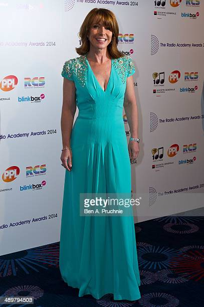 Kay Burley attends The Radio Academy Awards at The Grosvenor House Hotel on May 12 2014 in London England