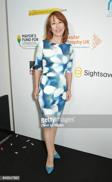 Kay Burley representing Brainwave attends BGC Charity Day on September 11 2017 in London United Kingdom