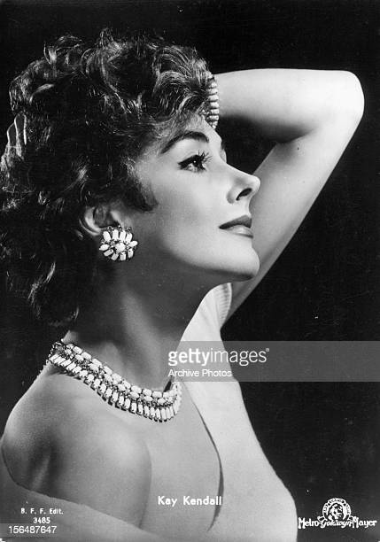 Kay Kendall publicity portrait for the film 'Les Girls' 1957