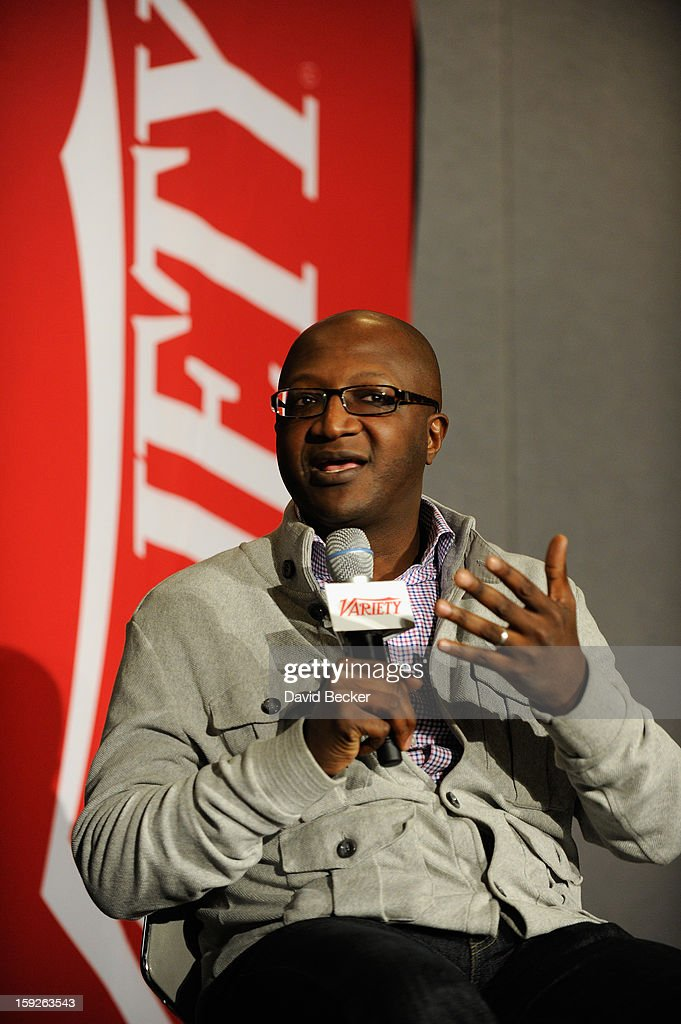 Kay Madati, Head of Media and Entertainment at Facebook, appears onstage during Variety Entertainment Summit at The 2013 International CES at Las Vegas Convention Center on January 10, 2013 in Las Vegas, Nevada.