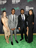 Kay Marie Lemuel Plummer Ray J and TV personality Princess Love attend the BET Hip Hop Awards 2015 presented by Sprite at Atlanta Civic Center on...