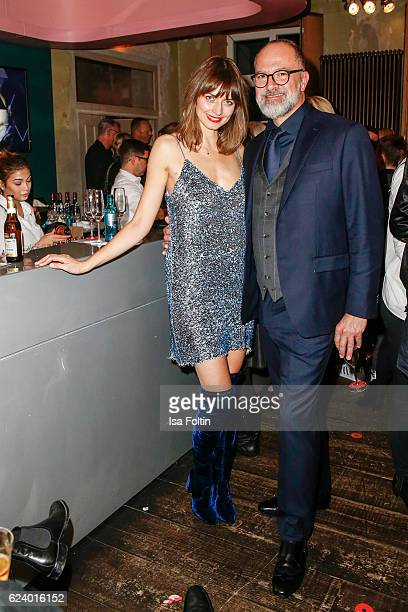 Kay Niehaus Business Director Value Retail and german model Eva Padberg attend New Faces Award Style on November 16 2016 in Berlin Germany