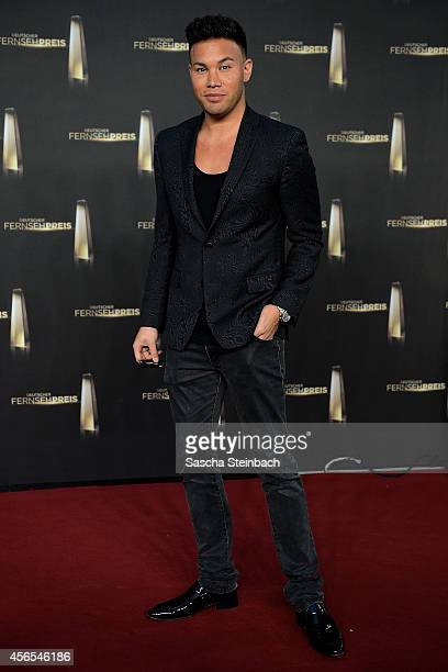 Kay One arrives at the 'Deutscher Fernsehpreis 2014' at Coloneum on October 2 2014 in Cologne Germany