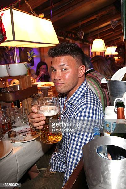 Kay One attends the 'Almauftrieb' at Kaefer tent during Oktoberfest at Theresienwiese on September 21 2014 in Munich Germany