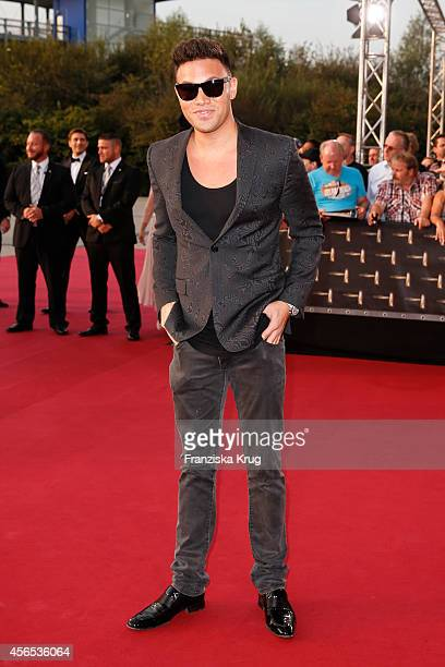 Kay One attends the red carpet of the Deutscher Fernsehpreis 2014 on October 02 2014 in Cologne Germany