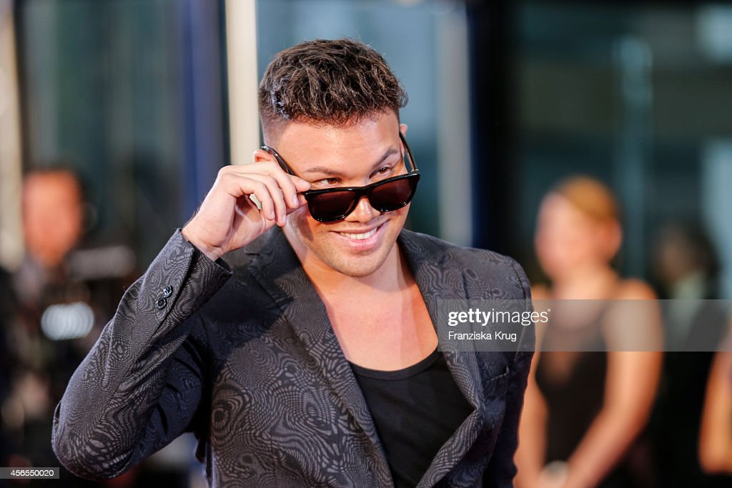 Kay One attends the red carpet of the Deutscher Fernsehpreis 2014 on October 02, 2014 in Cologne, Germany.