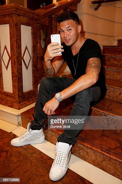 Kay One visited the Hotel Bayerischer Hof on September 19 2014 in Munich Germany