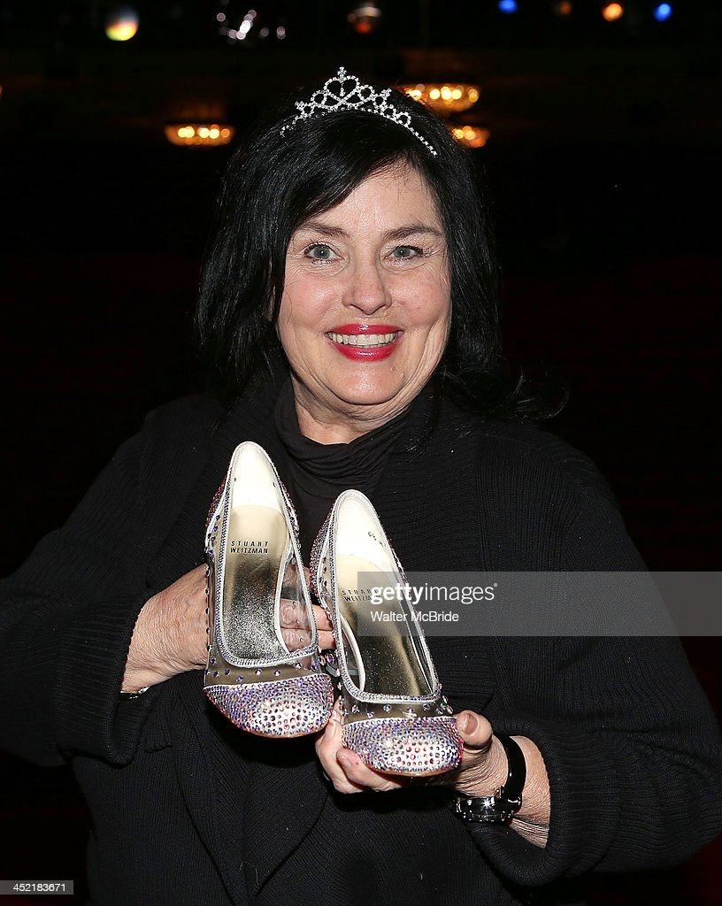 Kay Robertson from 'Duck Dynasty' visits 'Cinderella' On Broadway at the Broadway Theatre on November 26, 2013 in New York City.