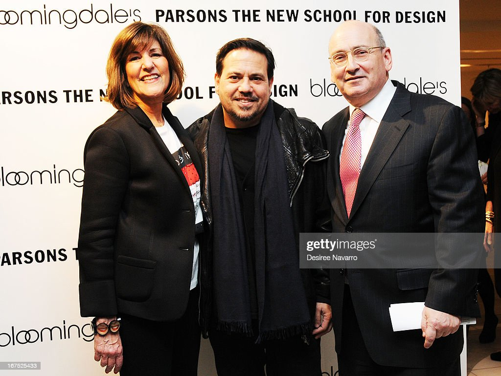 Kay Unger, Narciso Rodriguez and Frank Doroff attend Bloomingdale's: b the next at Bloomingdale's on April 25, 2013 in New York City.