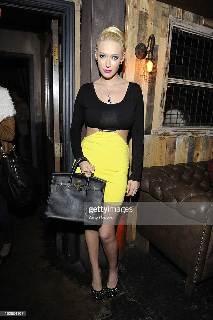 Kaya Jones attends the GRAMMY Label Launch Party at Harvard And Stone on February 6, 2013 in Hollywood, California.