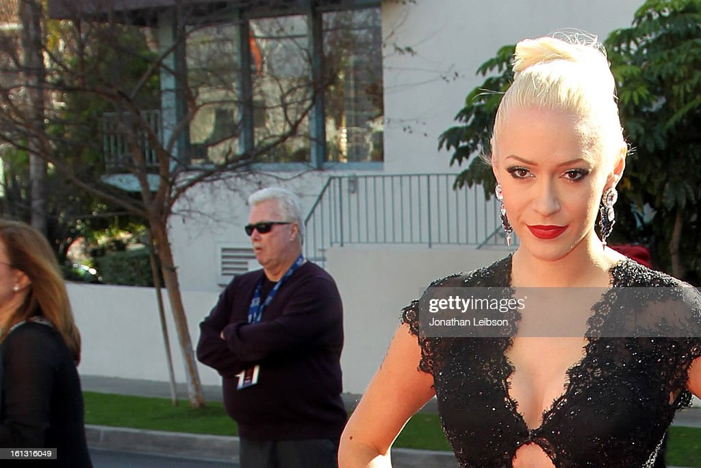 <a gi-track='captionPersonalityLinkClicked' href=/galleries/search?phrase=Kaya+Jones&family=editorial&specificpeople=601338 ng-click='$event.stopPropagation()'>Kaya Jones</a> attends the Recording Academy's Special Merit Awards ceremony held at The Wilshire Ebell Theatre on February 9, 2013 in Los Angeles, California.