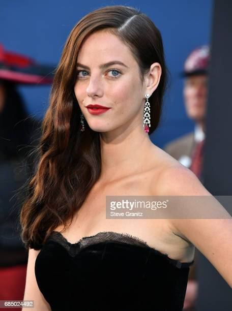 Kaya Scodelario arrives at the Premiere Of Disney's 'Pirates Of The Caribbean Dead Men Tell No Tales' at Dolby Theatre on May 18 2017 in Hollywood...