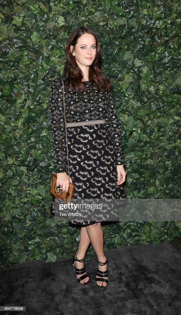 kaya-scodelario-attends-a-pre-bafta-party-hosted-by-charles-finch-and-picture-id634779538