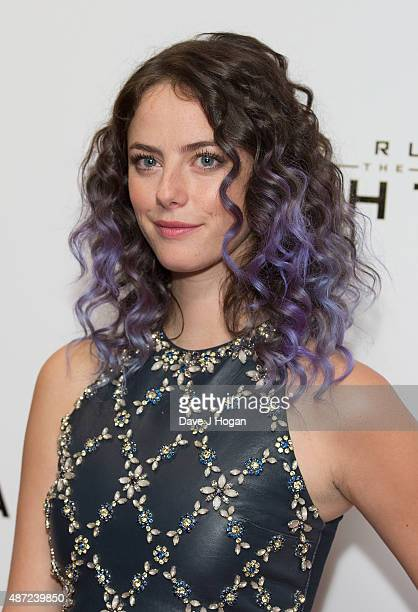 Kaya Scodelario attends a UK Fan event for 'Maze Runner The Scorch Trials' at Vue West End on September 7 2015 in London England