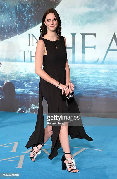 Kaya Scodelario attends the European Premiere of 'In The Heart Of The Sea' at Empire Leicester Square on December 2 2015 in London England