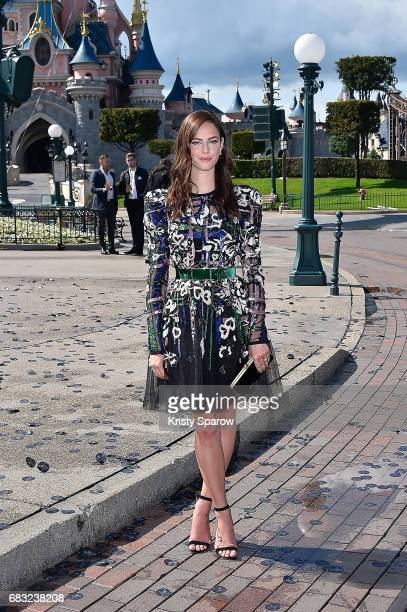 Kaya Scodelario attends the European Premiere to celebrate the release of Disney's Pirates of the Caribbean Salazar's Revenge at Disneyland Paris on...
