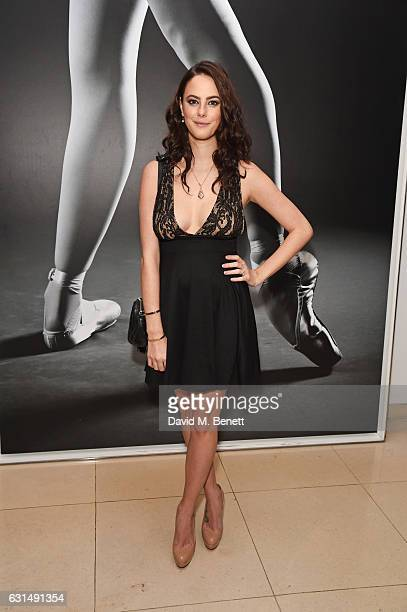Kaya Scodelario attends the opening night reception of the English National Ballet's production of 'Giselle' hosted by St Martins Lane on January 11...