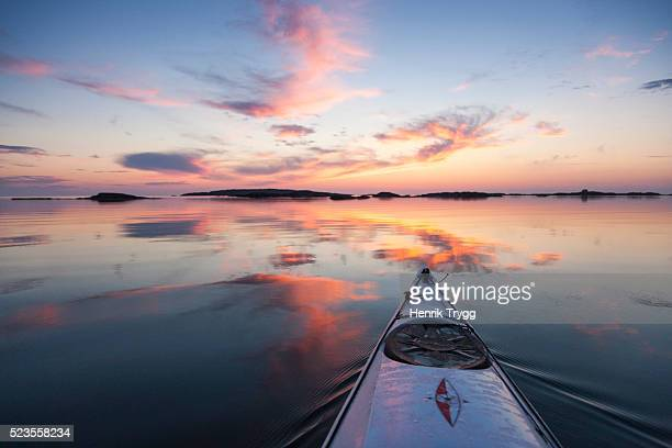 Kayak in Stockholm Archipelago