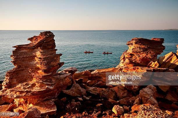 Kayakers, Gantheaume Pt, Broome WA Australia