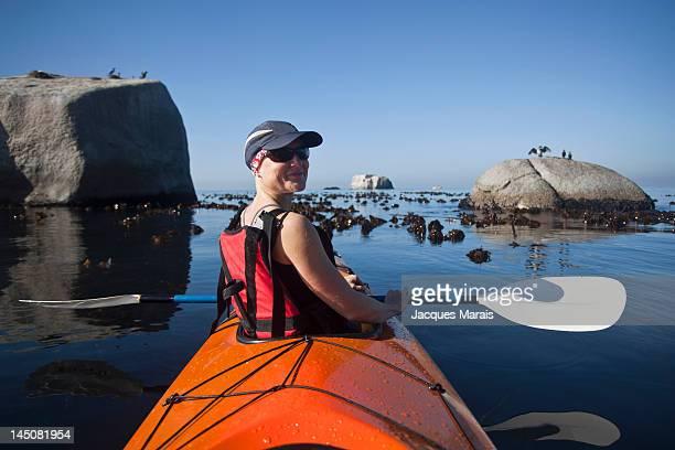 Kayaking, Boulders, Simons Town, South Africa