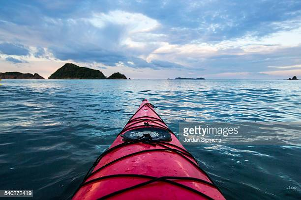 Kayaking excursion through the Philippines