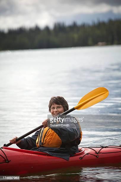 Kayaking Woman