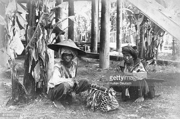 Kaychins A Tribe Inhabiting The Hilly Country To The East Of Bhamo They are a very uncivilised people and but little is known of them at present The...