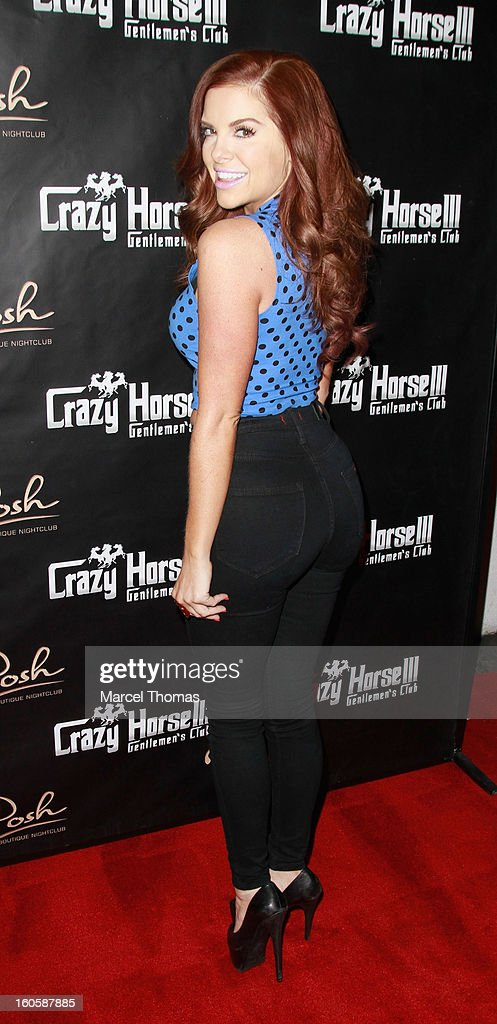 Kayla Collins hosts 'Big Game' weekend at Crazy Horse 111 on February 2, 2013 in Las Vegas, Nevada.