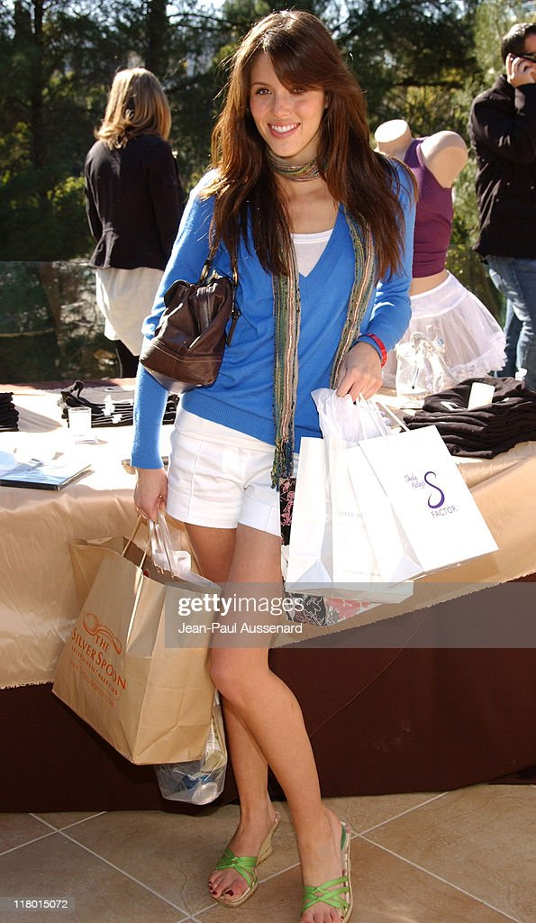 <a gi-track='captionPersonalityLinkClicked' href=/galleries/search?phrase=Kayla+Ewell&family=editorial&specificpeople=225010 ng-click='$event.stopPropagation()'>Kayla Ewell</a> at S Factor during 2007 Silver Spoon Golden Globes Suite - Day 2 in Los Angeles, California, United States. (Photo by Jean-Paul Aussenard/WireImage for Silver Spoon (formerly The Cabana))