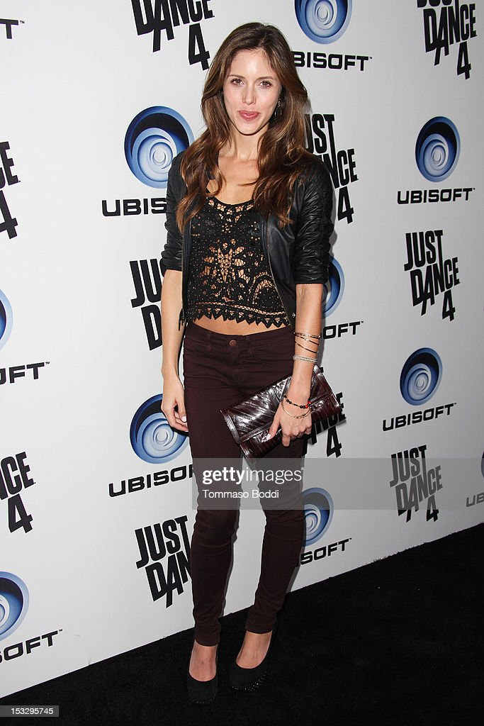 Kayla Ewell attends the Ubisoft presents the launch of 'Just Dance 4' held at Lexington Social House on October 2, 2012 in Hollywood, California.