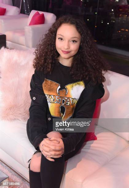 Kayla Maisonet attends beautyblender Cheers to 15 Years on March 23 2017 in West Hollywood California