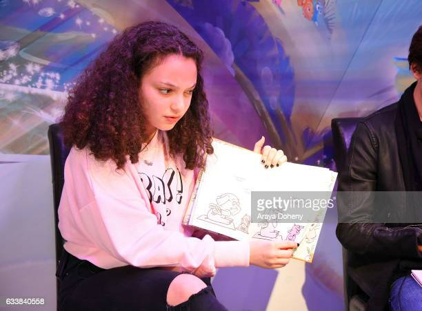 Kayla Maisonet attends the Disney Reads Day at the Disney Store on February 4 2017 in Glendale California