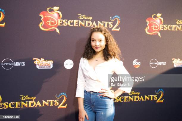 Kayla Maisonet attends the Premiere Of Disney Channel's 'Descendants 2' at The Cinerama Dome on July 11 2017 in Los Angeles California