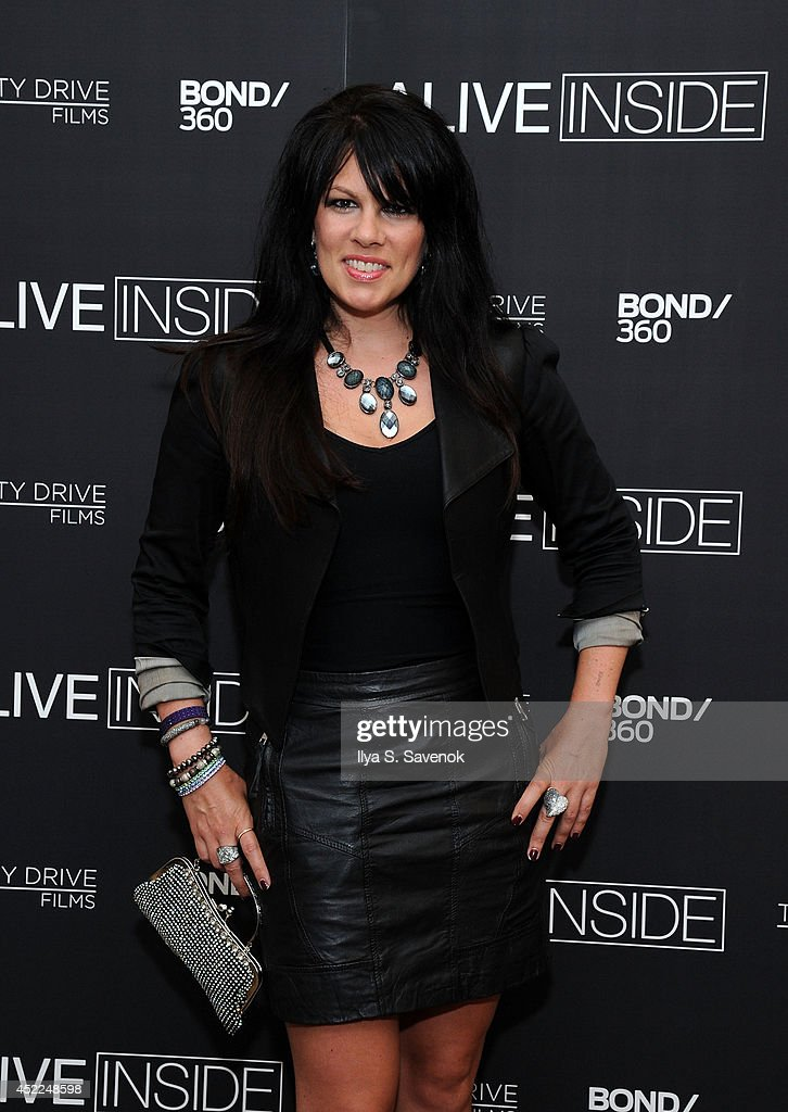 Kayla Reilly the 'Alive Inside' premiere at Crosby Street Hotel on July 16, 2014 in New York City.