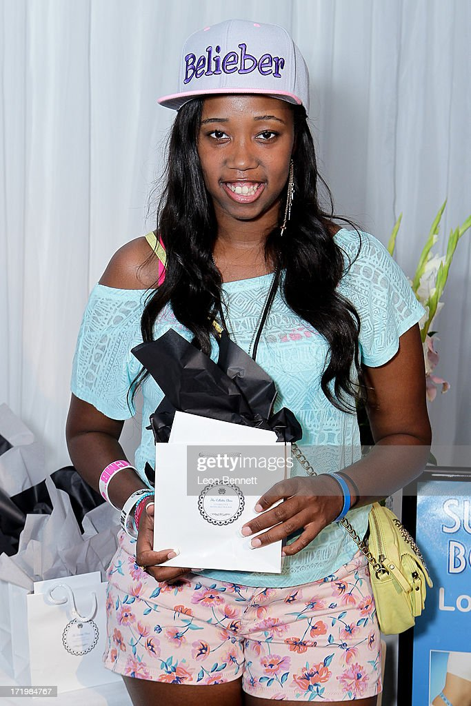 Kayla Rushing attended the BET & Make A Wish Foundation Recipient Kayla Rushing's Wish To Attend BET Awards Weekend at on June 29, 2013 in Los Angeles, California.