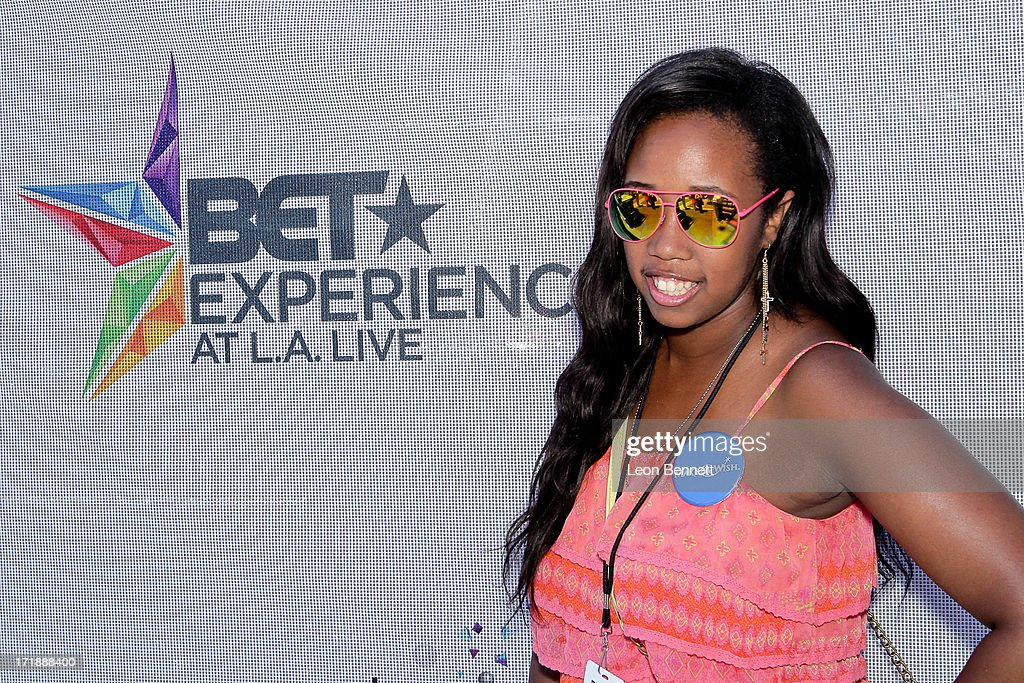 Kayla Rushing attends the BET & Make A Wish Foundation Recipient Kayla Rushing's Wish To Attend BET Awards Weekend at on June 28, 2013 in Los Angeles, California.
