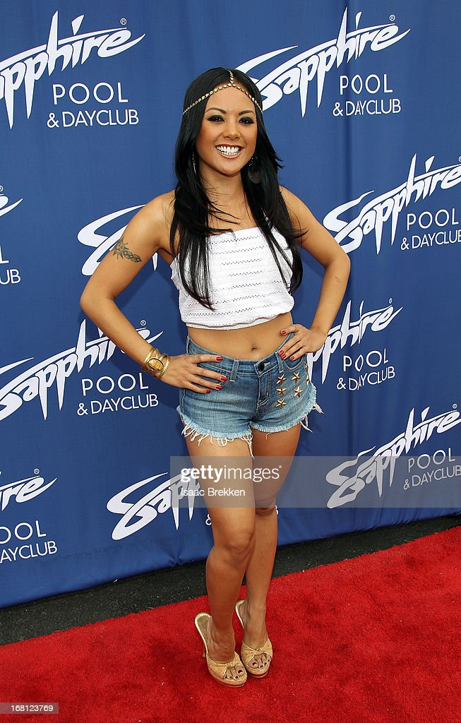 Kaylani Lei arrives at the grand opening of the Sapphire Pool & Day Club on May 5, 2013 in Las Vegas, Nevada.