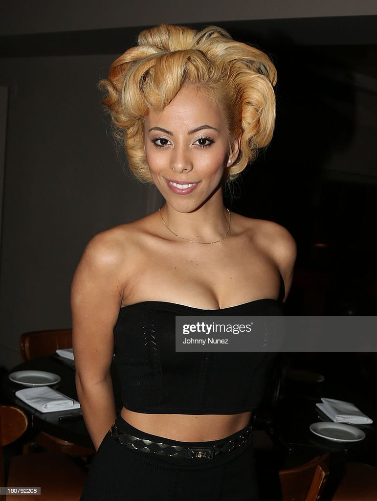 Kaylin Garcia attends Joe Budden's 'No Love Lost' album release dinner at Abe & Arthur's on February 5, 2013 in New York City.
