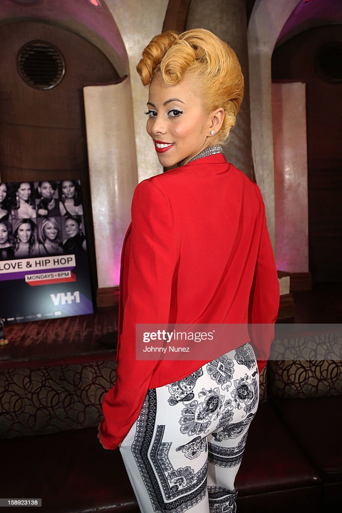 Kaylin Garcia attends the 'Love & Hip Hop' Season 3 Premiere Party at Kiss & Fly on January 3, 2013 in New York City.