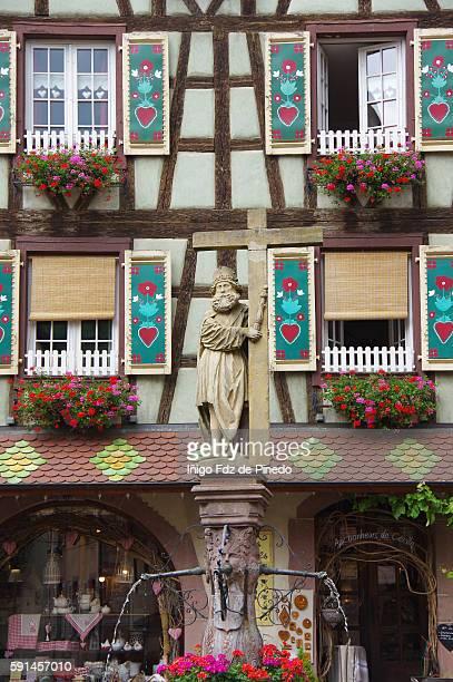 Kaysersberg- Details- Haut-Rhin-Alsace- France