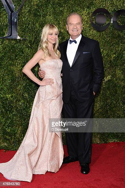Kayte Walsh and Kelsey Grammer attend the American Theatre Wing's 69th Annual Tony Awards at Radio City Music Hall on June 7 2015 in New York City