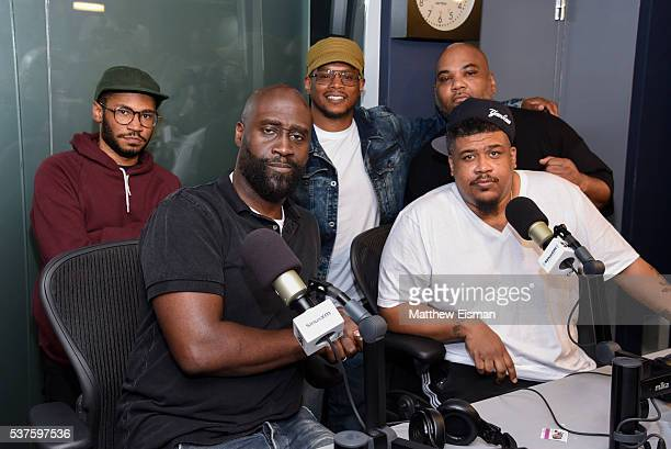 Kaytranada Kelvin Mercer AKA Posdnuos AKA Pos Sway Calloway Vincent Mason AKA Maseo and David Jolicoeur AKA Trugoy the Dove visit 'Sway in the...