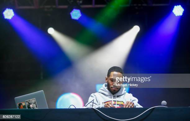 Kaytranada performs at Grant Park on August 3 2017 in Chicago Illinois
