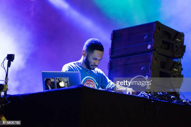 Kaytranada performs on Day 4 of FIB Festival on July 16 2017 in Benicassim Spain