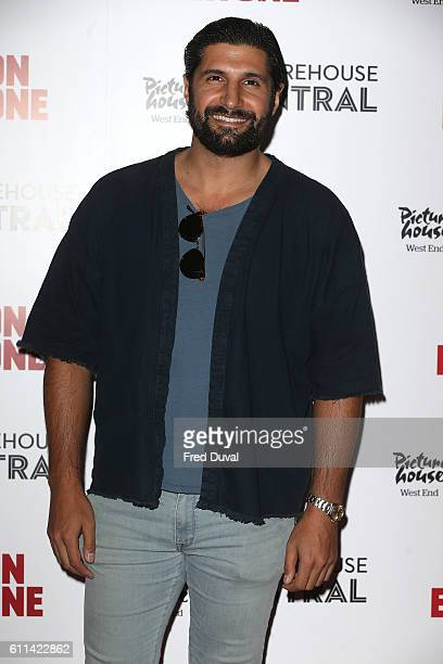 Kayvan Novak arrives for the UK premiere of 'War On Everyone' at Picturehouse Central on September 29 2016 in London England