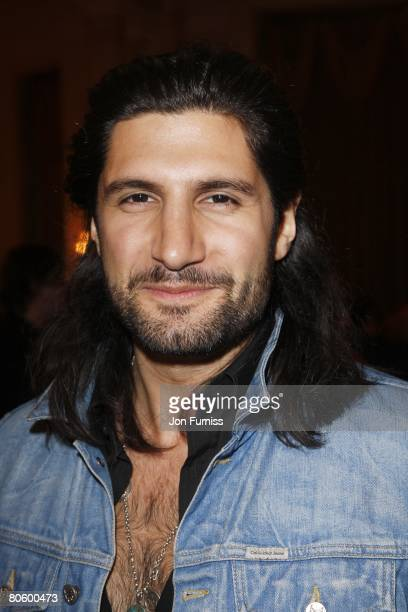 Kayvan Novak attends British Academy Television Awards and Television Craft Awards Nominees Reception at The Landmark Hotel on April 10 2008 in...