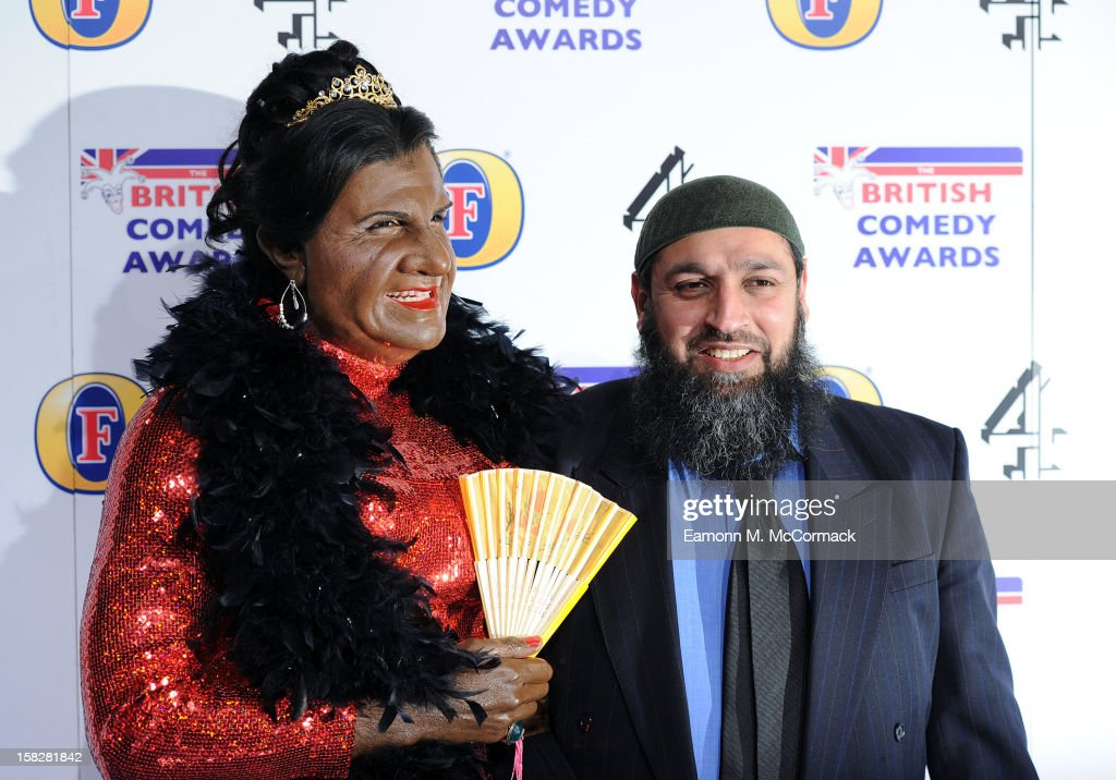 Kayvan Novak attends the British Comedy Awards at Fountain Studios on December 12, 2012 in London, England.